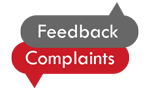 Feedback and complaints button